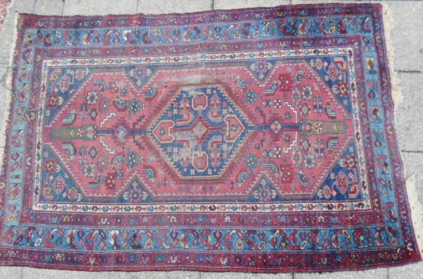 190 x 130 cms alfombra caucasiana persa en for Alfombras usadas