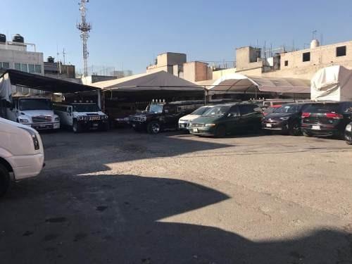 1900 terreno bardedo para estacionamientos aclientado