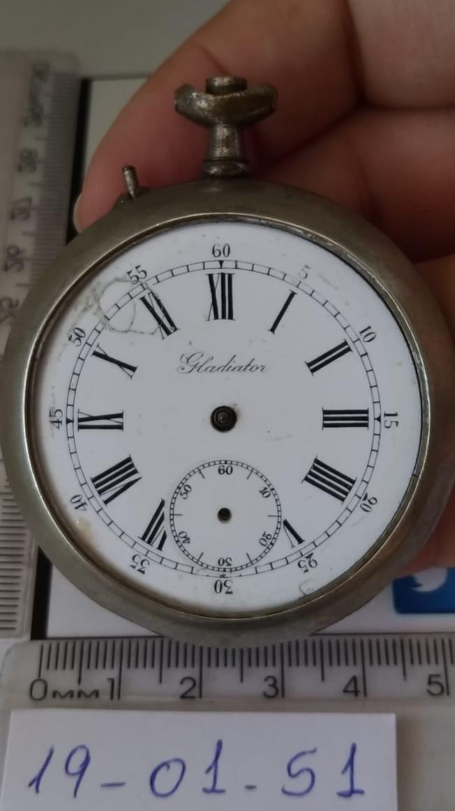 4404ac034b4 190151 Gladiador Sucata Para Restauro De Relógio De Bolso - R  109 ...