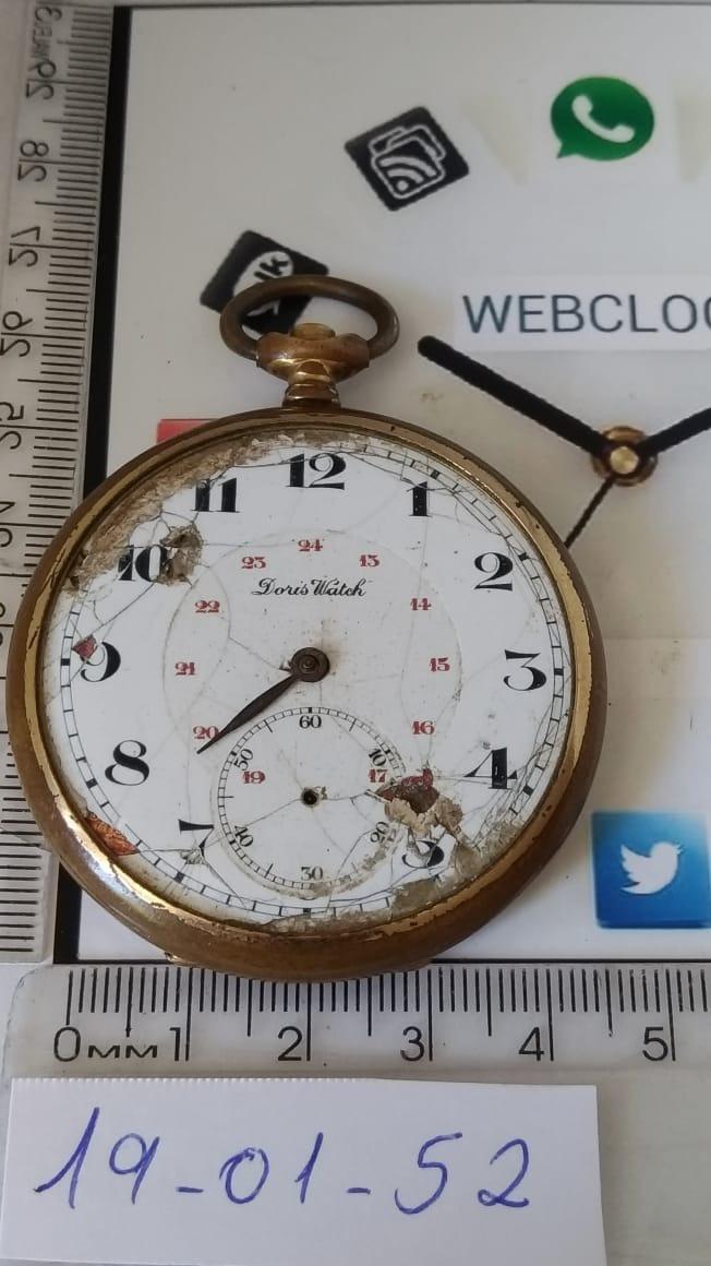 9025d7167ac 190152 Doris Watch Sucata Para Restauro De Relógio De Bolso - R  127 ...