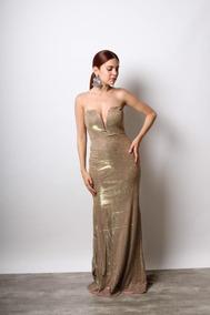 1906 06 Vestido Color Dorado