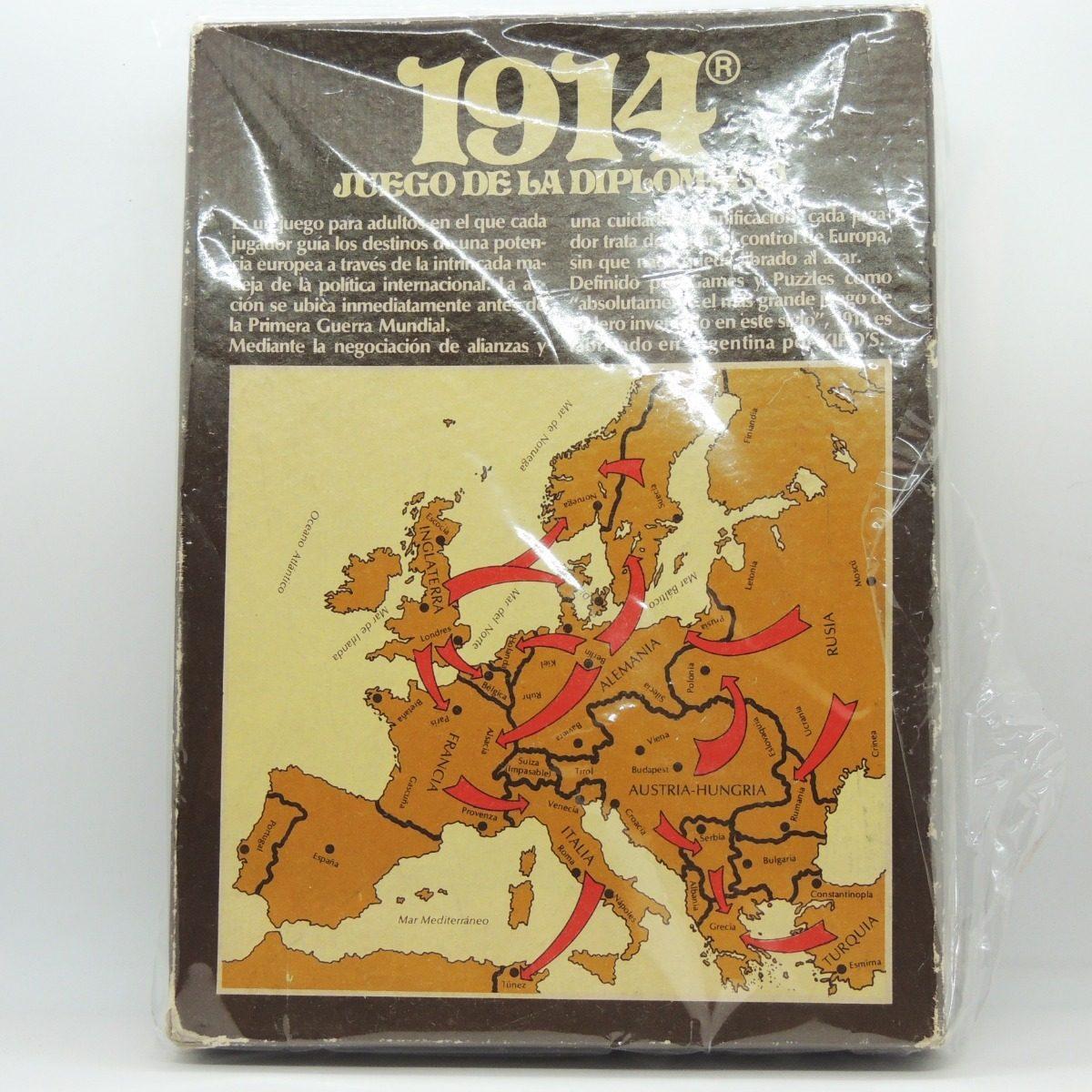 1914 Juego De La Diplomacia Juego De Mesa Kipos Argentina 1 000