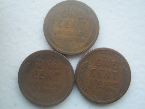 1919 set de monedas de lincoln p - d - s