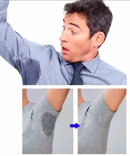 192 parches protectores piel antitranspirantes axilas polera