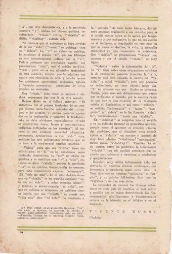 1929 folklore nota sobre la vidalita vicente rossi la pluma