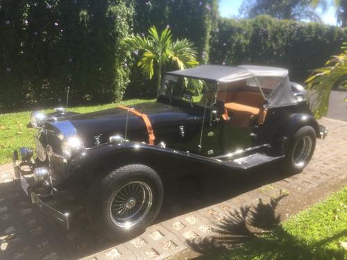 1929 mercedes ssk réplica del auto, basado en un vw 1972