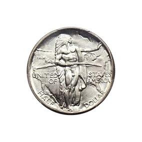 1934 D Silver Commems (1892-1954) Oregon Half Dollar Ms66 Pc