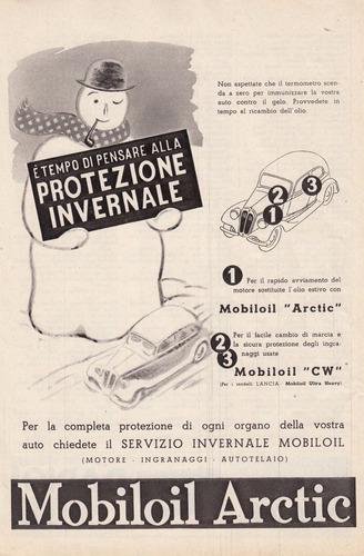 1938 publicidad italia lubricantes mobiloil epoca fascismo