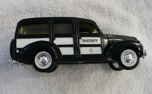 1940 ford woody station wagon sheriff police  ertl 1/43