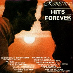 1945 - cd romantic hits forever - ray charles, the platters
