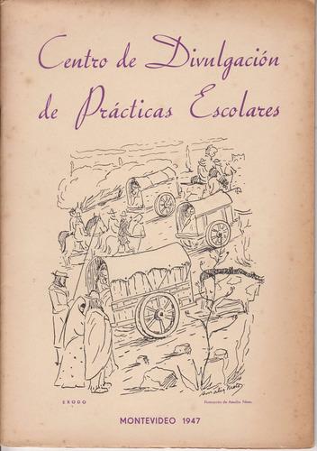 1947 arte amalia nieto exodo oriental tapa revista