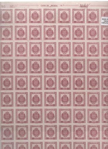 1948 - a-70 fl selos 5º congresso eucarístico poa rs 180uf