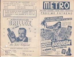 1948 programa cine montgomery clift zinnemann la busqueda