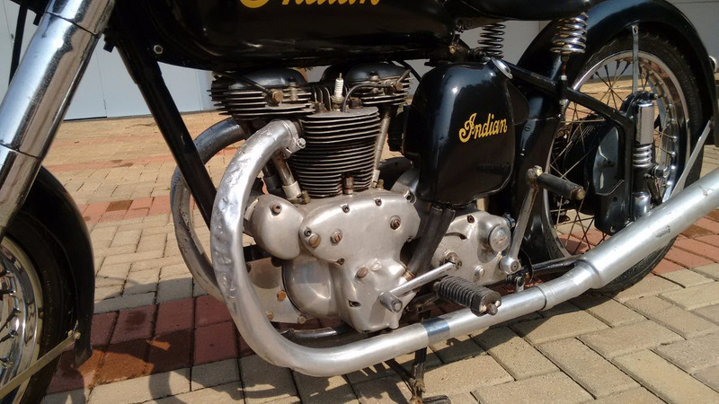 1951 indian scout 440 cc tags harley ariel bsa