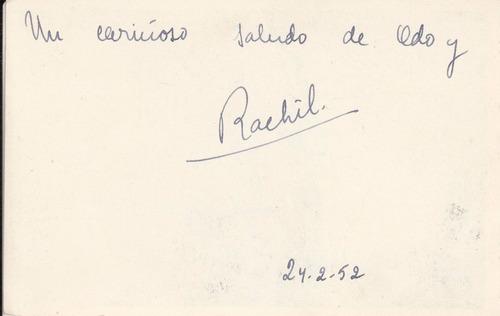 1952 postal bariloche bahia lopez cerro capilla kaltschmidt