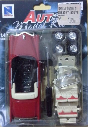 1955 cadillac eldorado auto model kit escala 1/43 {10}