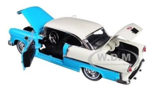 1955 chevrolet bel air turqueza showroom floor jada 1:24