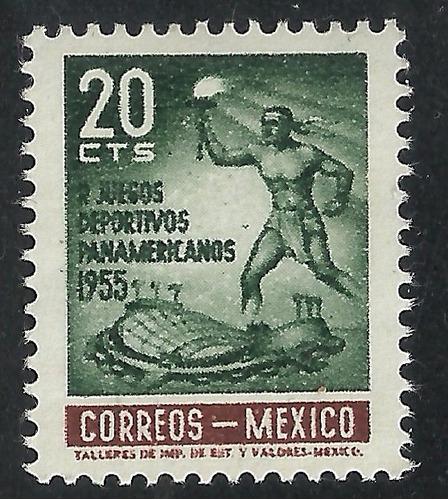1955 juegos deportivos panamericanos sc. 890 mnh