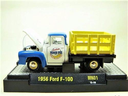 1956 ford f-100 pick up edicion limitada exclusiva m2 1/64