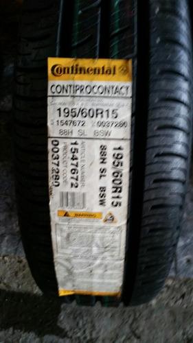 195/60r15 88h continental contiprocontact