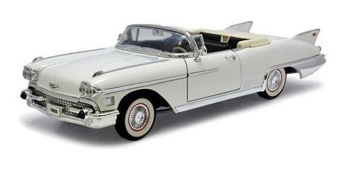 1958 cadillac eldorado biarritz branco - 1:18 - yat ming