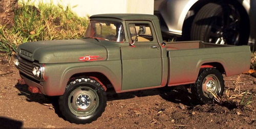 1959 ford f250 pick up unrestored 1/18
