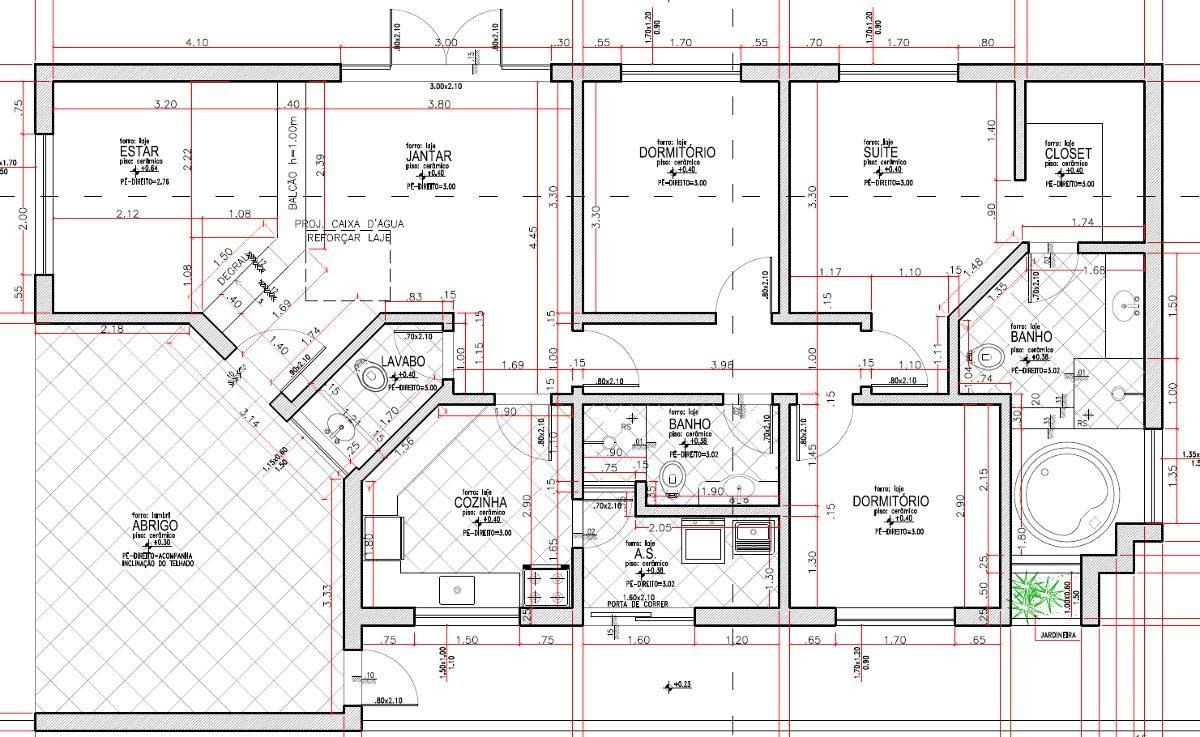 Planta Baixa Simples Casa Quartos M Mais Plantas Planta Baixa  -> Planta De Sala De Ordenha