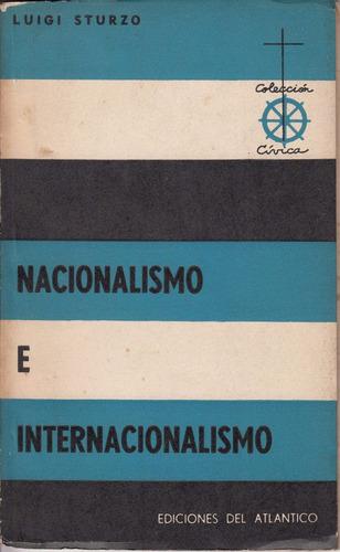 1960 nacionalismo e internacionalismo luigi sturzo escaso