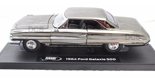 1964 ford galaxie 500 hombres de negro 3 escala 1.18