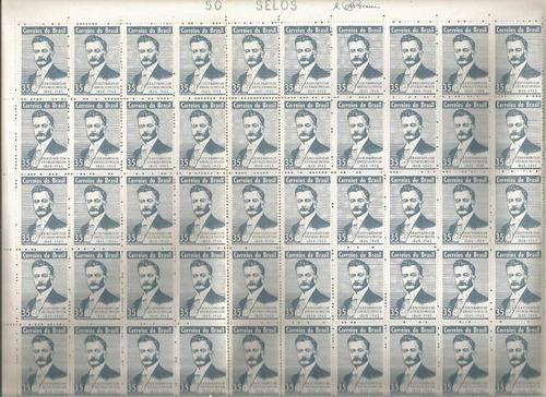 1965 c-529 folha selos 100 anos epitacio pessoa