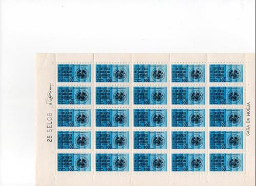 1965 c-541 folha selos conf interam extraordinária