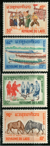 1965 laos: vistas varias