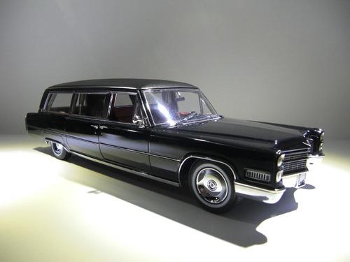 1966 cadillacs carroza fúnebre   escala 1/18