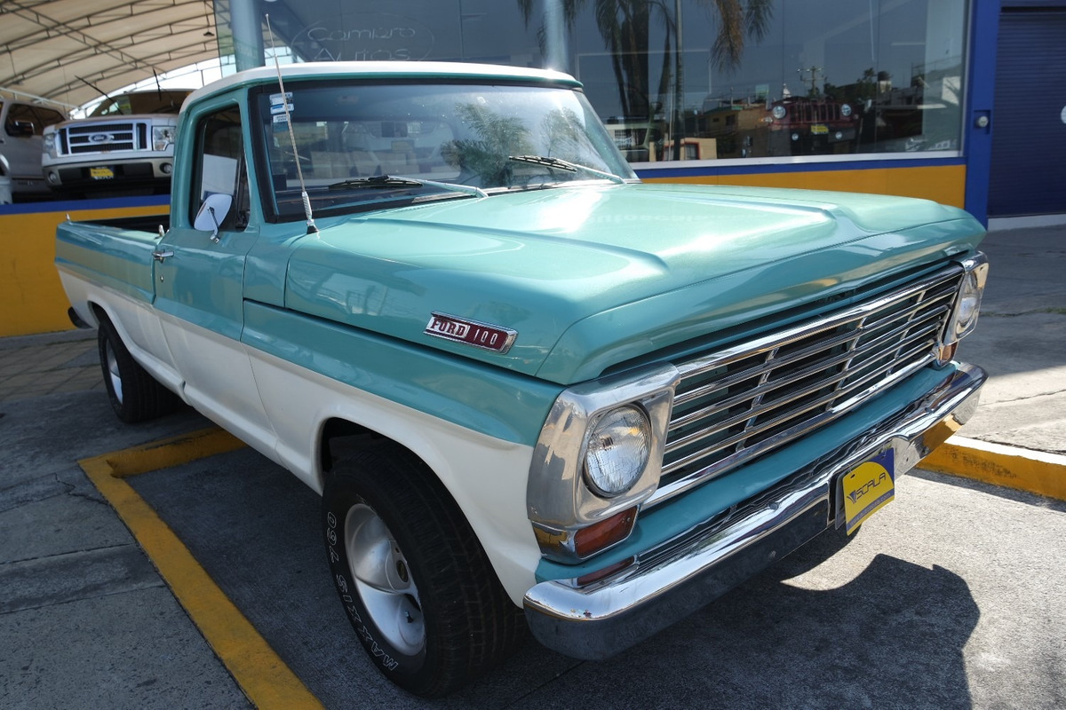 9a9d43793 1967 Ford Pick Up Clasico De Colección Color Aqua - $ 109,000 en ...