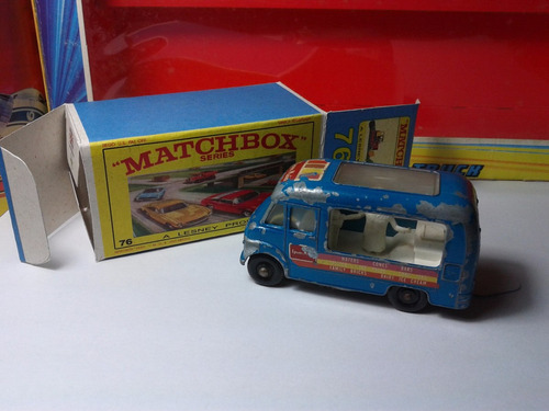 1967 - matchbox lesney ice cream + box custom mt02a-