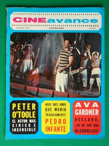 1967 pedro infante revista cine avance maria conesa
