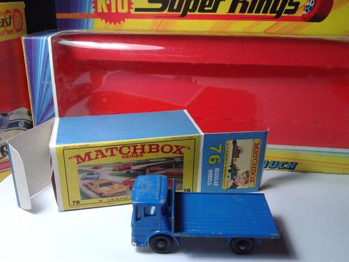 1969 - matchbox lesney sit truck  + box custom mt02a-