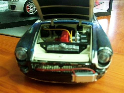 1969 mgb gt   modificado  tuning rat 1/18