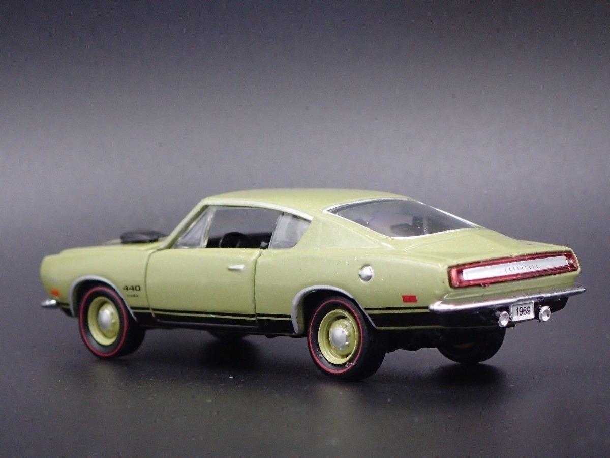 1969 Plymouth Barracuda 440 Fastback Ruedas De Goma M2 1/64 - $ 1 075,00