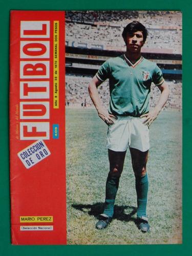 1970 seleccion mexicana mario pichojos perez revista futbol