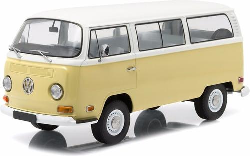 1971 volkswagen type 2 (t2b) bus beige 1/18 gl art lyly toys