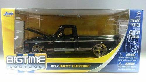 1972 chevy cheyenne  marca jada  escala 1/24