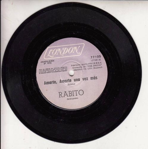 1972 pop latino psych rabito simple vinilo uruguay cual es