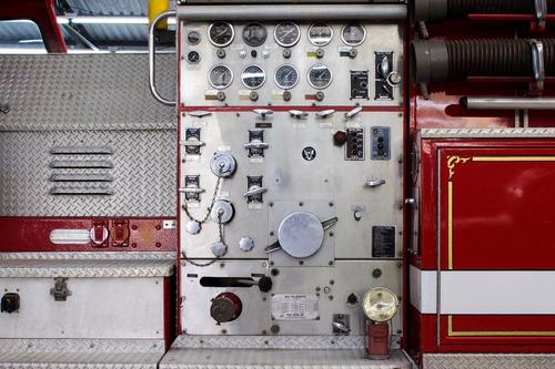 1973 caminhão de bombeiro antigo mack fire truck f600