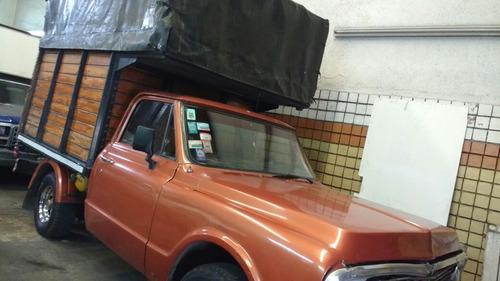 1973..chevrolet c10 con caja mudanza 1973