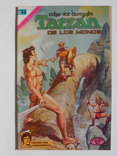 1974 tarzan de los monos # 385 comic mexicano edit. novaro