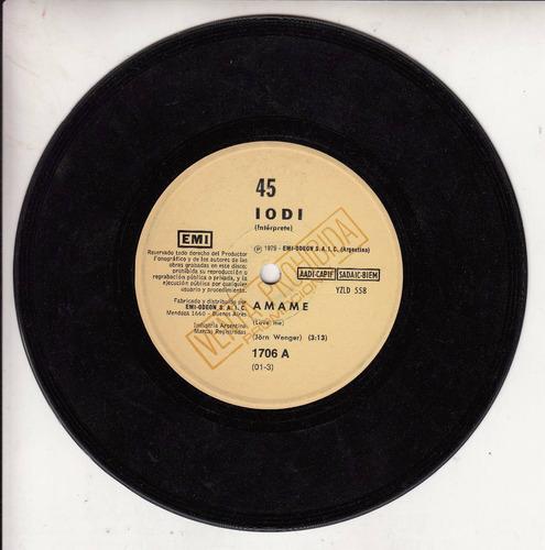 1979 iodi latin funk disco simple promo argentina amame raro