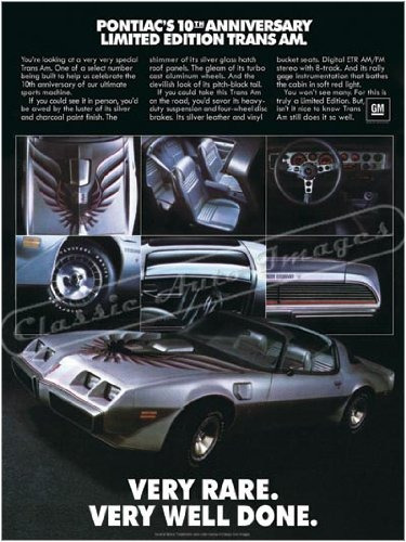 1979 pontiac firebird trans am anuncio digitalizado