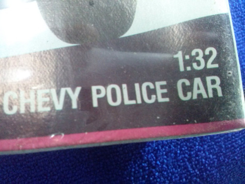 1980 chevrolet malibu 30 patrulla escala 1/32 monogram
