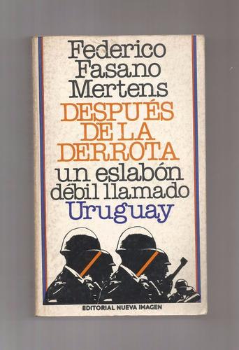 1980 federico fasano uruguay despues de la derrota mexico